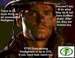fire fighter and PTSD
